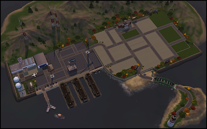 Arkham By Martine SIMple Realty - Blank world map sims 3